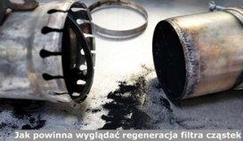 Jak powinna wyglądać regeneracja filtra cząstek stałych DPF?