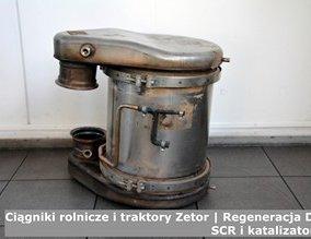 Ciągniki rolnicze i traktory Zetor | Regeneracja DPF, SCR i katalizatorów