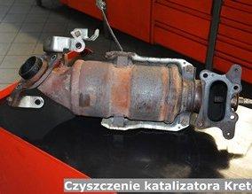 Czyszczenie katalizatora Kretem