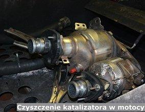 Czyszczenie katalizatora w motocyklu