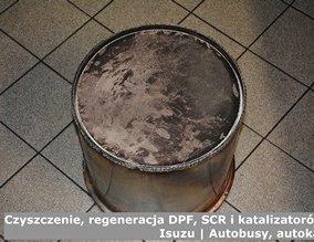 Czyszczenie, regeneracja DPF, SCR i katalizatorów – Isuzu | Autobusy, autokary