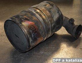 DPF a katalizator