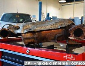 DPF - jakie ciśnienie różnicowe