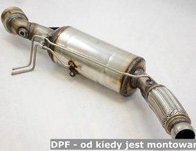 DPF - od kiedy jest montowany?