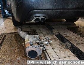 DPF - w jakich samochodach?