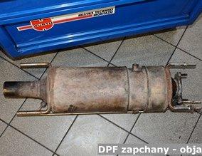 DPF zapchany - objawy