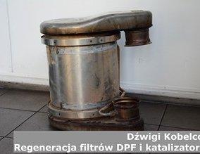 Dźwigi Kobelco | Regeneracja filtrów DPF i katalizatorów