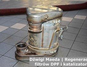 Dźwigi Maeda | Regeneracja filtrów DPF i katalizatorów