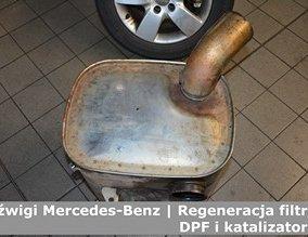 Dźwigi Mercedes-Benz | Regeneracja filtrów DPF i katalizatorów