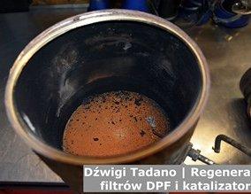 Dźwigi Tadano | Regeneracja filtrów DPF i katalizatorów