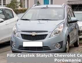Filtr cząstek stałych Chevrolet cena | Porównanie 27