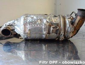 Filtr DPF - obowiązkowy