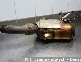 Filtr cząstek stałych - benzyna