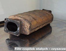 Filtr cząstek stałych - czyszczenie