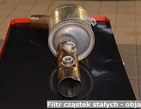 Filtr cząstek stałych - objawy