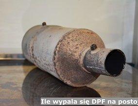 Ile wypala się DPF na postoju?