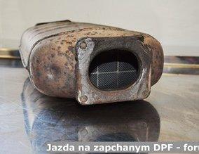 Jazda na zapchanym DPF - forum