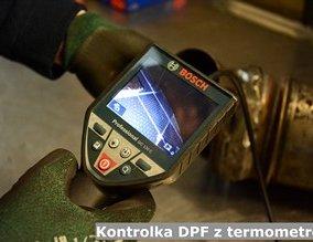 Kontrolka DPF z termometrem