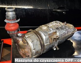 Maszyna do czyszczenia DPF - cena