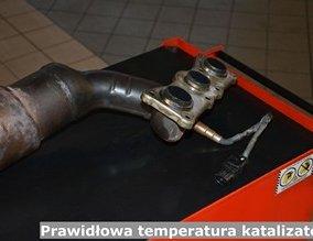 Prawidłowa temperatura katalizatora