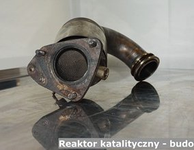 Reaktor katalityczny - budowa