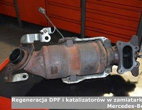 Regeneracja DPF i katalizatorów w zamiatarkach Mercedes-Benz