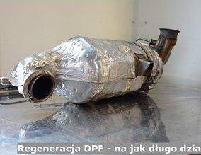 Regeneracja DPF - na jak długo działa?
