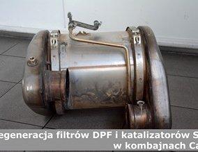 Regeneracja filtrów DPF i katalizatorów SCR w kombajnach Case