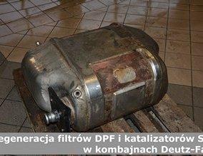 Regeneracja filtrów DPF i katalizatorów SCR w kombajnach Deutz-Fahr