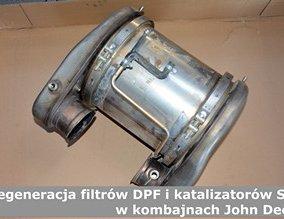 Regeneracja filtrów DPF i katalizatorów SCR w kombajnach John Deere
