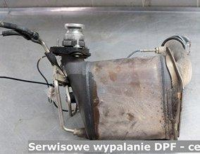 Serwisowe wypalanie DPF - cena