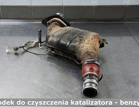 Środek do czyszczenia katalizatora - benzyna