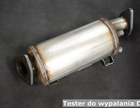 Tester do wypalania DPF