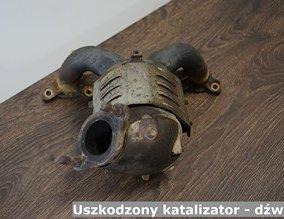 Uszkodzony katalizator - dźwięk