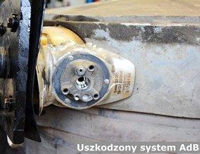 Uszkodzony system AdBlue