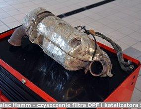 Walec Hamm - czyszczenie filtra DPF i katalizatora SCR