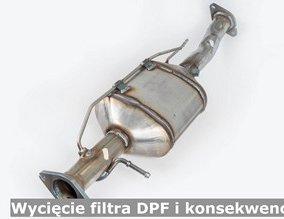 Wycięcie filtra DPF i konsekwencje