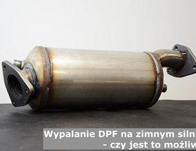 Wypalanie  DPF na zimnym silniku - czy jest to możliwe?