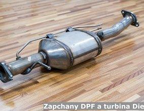 Zapchany DPF a turbina Diesla