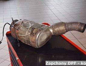 Zapchany DPF - kopci
