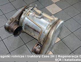 Ciągniki rolnicze i traktory Case IH | Regeneracja DPF, SCR i katalizatorów