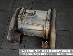Ciągniki rolnicze i traktory Deutz-Fahr | Regeneracja DPF, SCR i katalizatorów