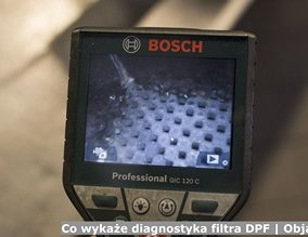 Co wykaże diagnostyka filtra DPF | Objawy