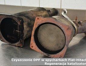 Czyszczenie DPF w spycharkach Fiat-Hitachi  | Regeneracja katalizatorów