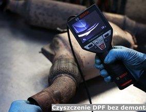 Czyszczenie DPF bez demontażu