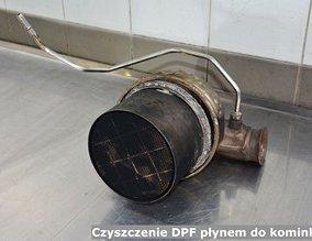 Czyszczenie DPF płynem do kominków