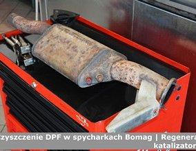 Czyszczenie DPF w spycharkach Bomag | Regeneracja katalizatorów