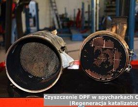 Czyszczenie DPF w spycharkach Case | Regeneracja katalizatorów
