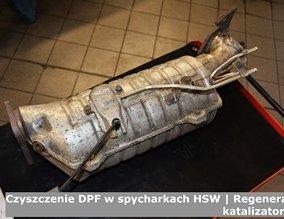 Czyszczenie DPF w spycharkach HSW | Regeneracja katalizatorów