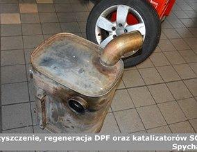 Czyszczenie, regeneracja DPF oraz katalizatorów SCR | Spycharki